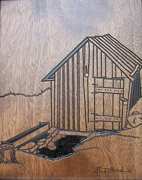 Ye Ole Springhouse by Stan Shirk
