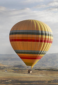 Kantilal Patel - Yellow Banded Hot Air Balloon
