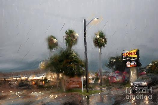 10th Street Mcallen Texas by Dinah Anaya