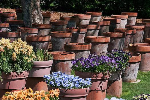 11902 Pots in Waiting by John Prichard