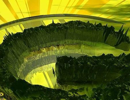 1218 Green Kryptonite by Scott Bishop