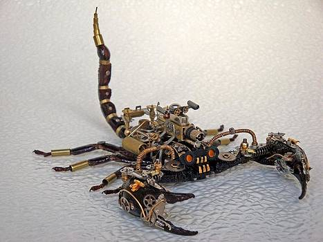 Steampunk Clockpunk Mechanical Bugs by Dmitriy Khristenko