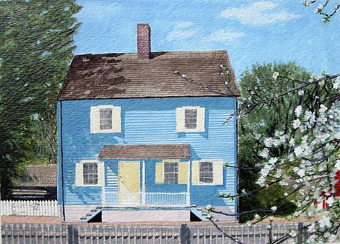 1825 Historical Old Salem CHRISTMAN HOUSE by Jason Zhang