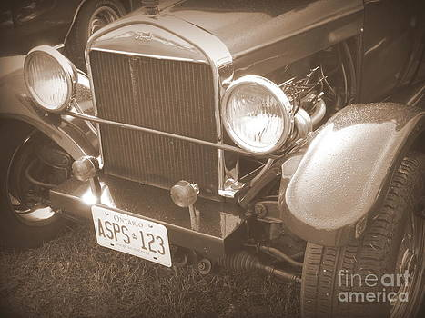 Art Studio - 1926 Model T Ford- Sepia