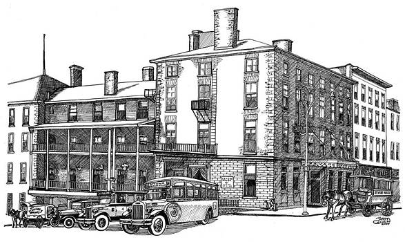 1926 Revere Hotel Brockville by John Cullen