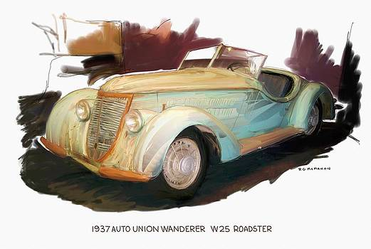 1937 Auto Union Wanderer  by RG McMahon