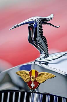 Jill Reger - 1937 Hispano-Suiza Hood Ornament