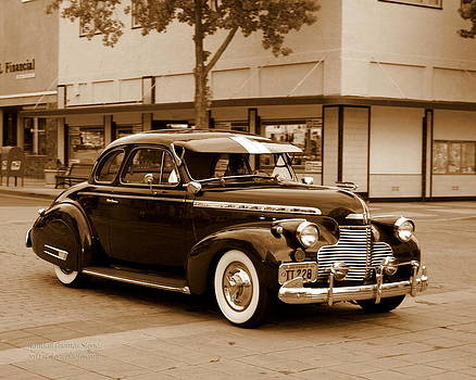 Randall Thomas Stone - 1940 Chevrolet Special Deluxe - Sepia