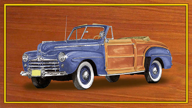 Jack Pumphrey - 1948 Ford Sportsman Convert.
