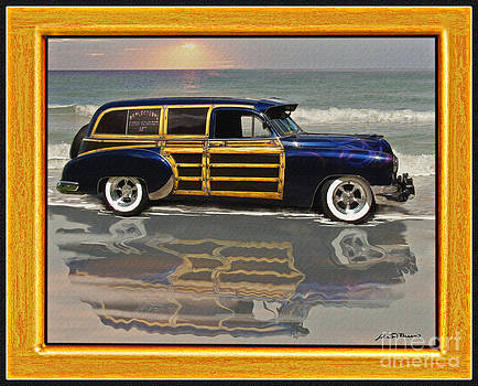 1951 Chevy sedan delivery by John Breen