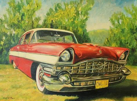 1956 Packard by Daniel W Green