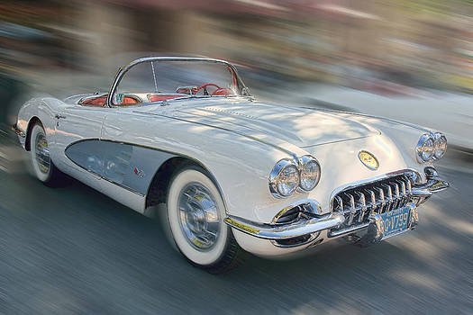 1958 Corvette by Gerry Mann