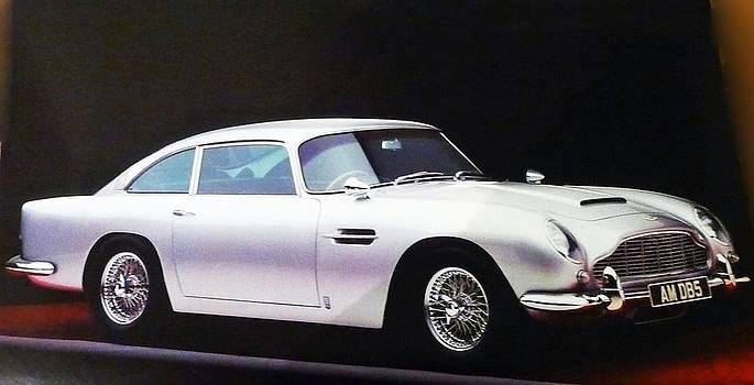1964 Astin Martin DB5 by Anke Wheeler