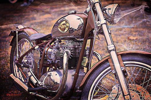 1969 Bsa Js by SM Shahrokni