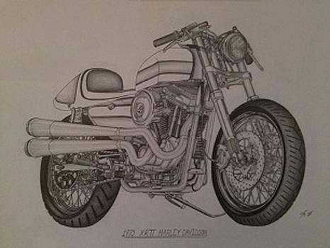 1973 Harley-Davidson XRTT by Peter Griffen