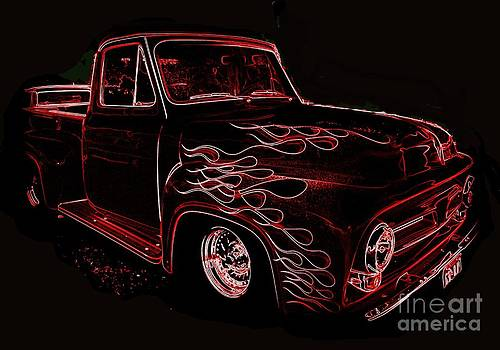 Art Studio - 1953 Mercury Pickup - Neon