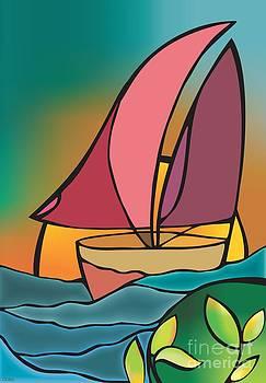 A boat by Mona Kazemi