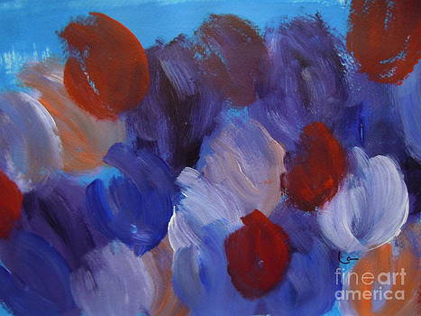 Abstract Untitled by Lam Lam