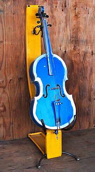 Aluminum cello by Ben Dye