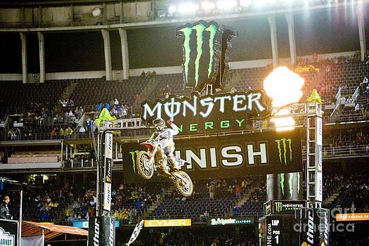 Daniel  Knighton - AMA Supercross in San Diego