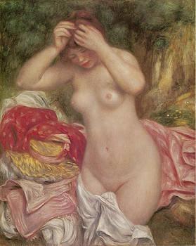 Pierre-Auguste Renoir - Bather Arranging Her Hair