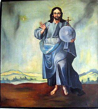 Blue Jesus by John Sowley