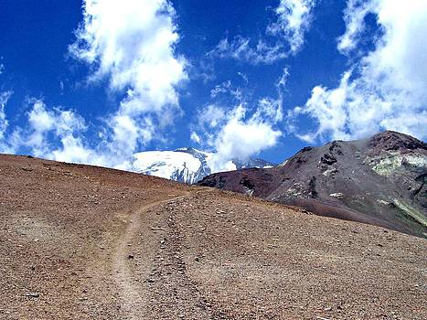 Cerro el Pintor Chile by Sandra Lira