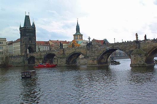 Charles Bridge and Old Town Prague by Paul Pobiak