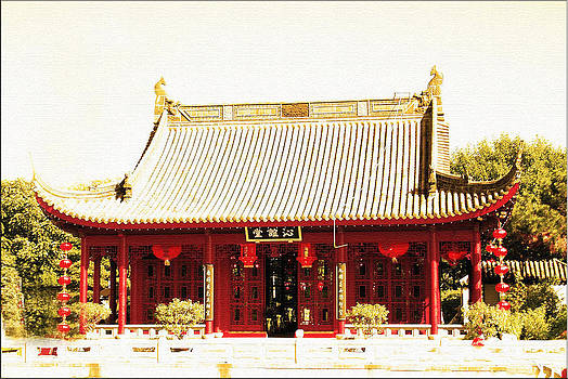 Chinese Mansion  by Janet G T