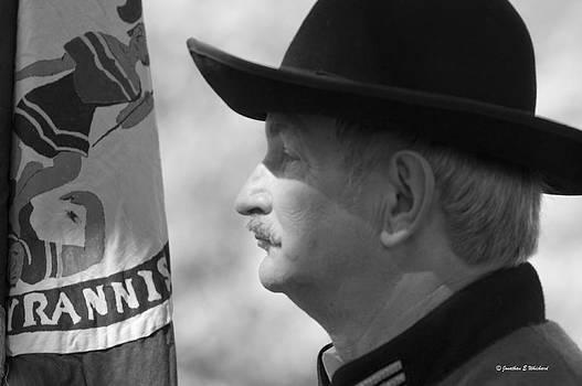 Jonathan Whichard - C S A  Co. H 4th Virginia Cavalry Black Horse Troop 150th Anniversary of the Civil War Warrenton Va.