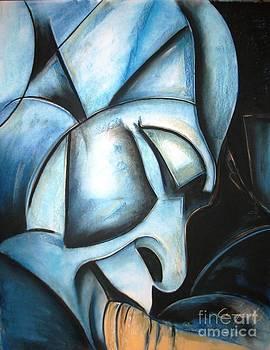 Adrian Pickett - Da Blue Man