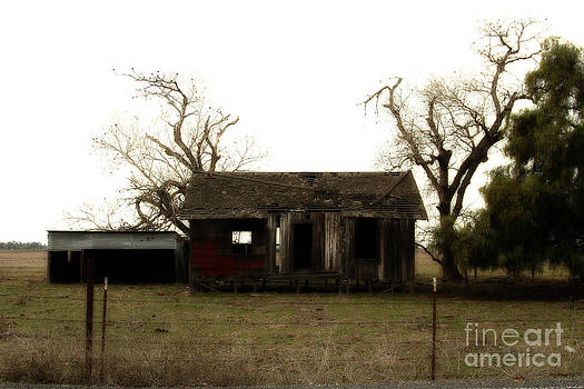 Wingsdomain Art and Photography - Dilapidated Old Farm House . 7D10341