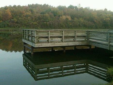 2 Docks by Michelle Jacobs-anderson