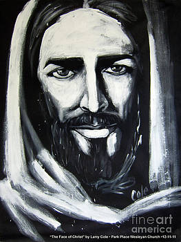 Face of Christ by Larry Cole