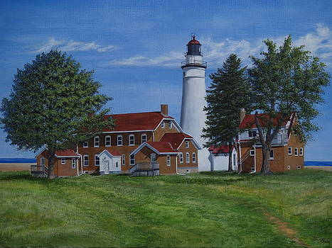 Fort Gratiot Lighthouse by Vicky Path