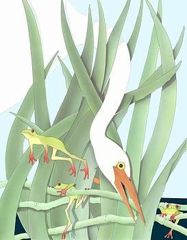 Frogs by Allen Klein