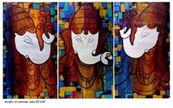 Ganesha by Keshaw Kumar