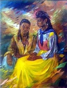 2 Girls by Mohamed Fadul
