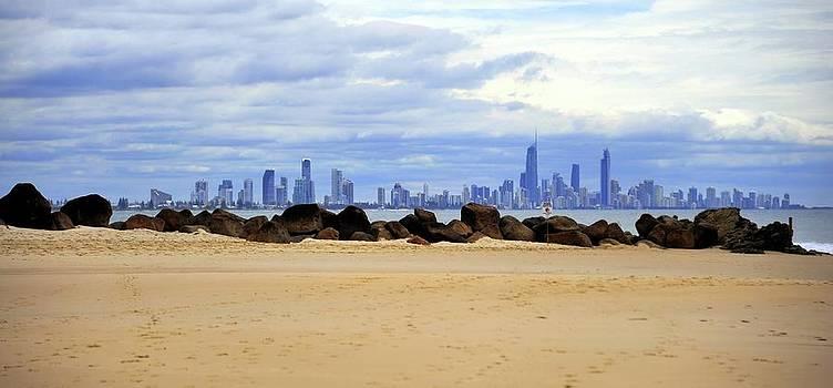 Gold Coast Skyline by Boyd Nesbitt