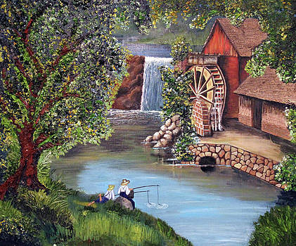 Gristmill Afternoon by Ann Iuen