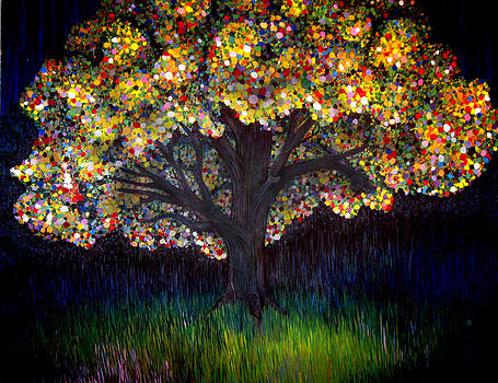 Gumball tree 0001 by Monica Furlow