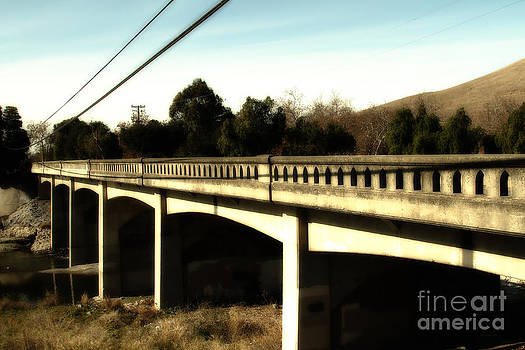 Wingsdomain Art and Photography - Historic Niles District in California Near Fremont . Bridge Into Niles District . 7D10596