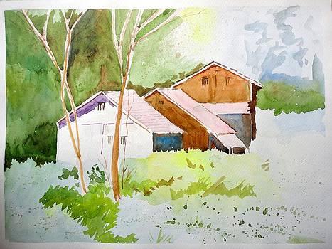 Landscape by Vijayendra Bapte