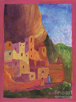 Mesa Verde Revisited by Carolene Of Taos