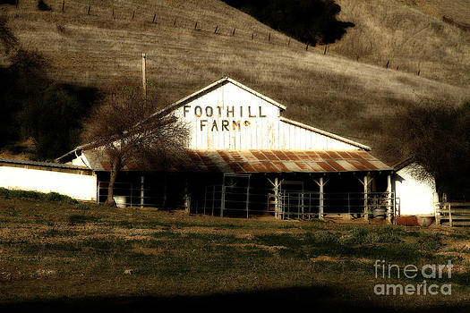 Wingsdomain Art and Photography - Old Foothill Farms in Small Town of Sunol California . 7D10796