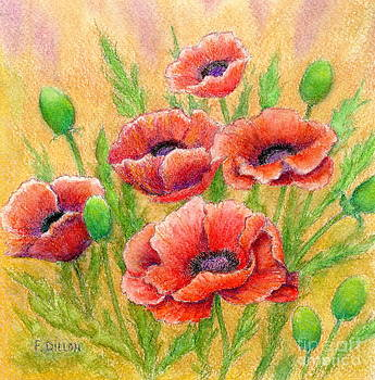 Poppies by Frances  Dillon