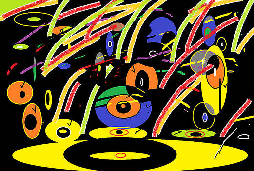 Record Jams by Mary Jo Scercy