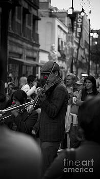 Red-Nosed Buskers by L E Jimenez