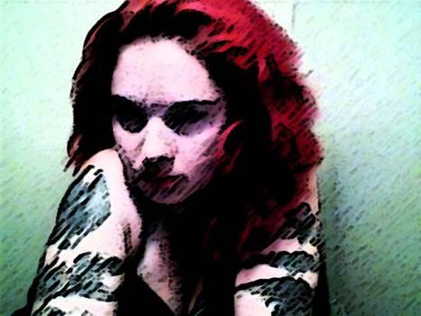 Rebecca Frank - Red