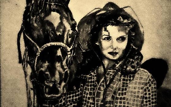 Rodeo Gal by Scott Hawkman